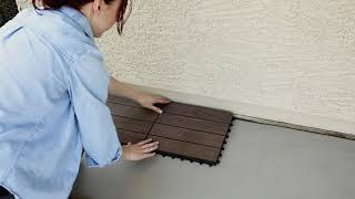 How to Install Composite Deck Tiles