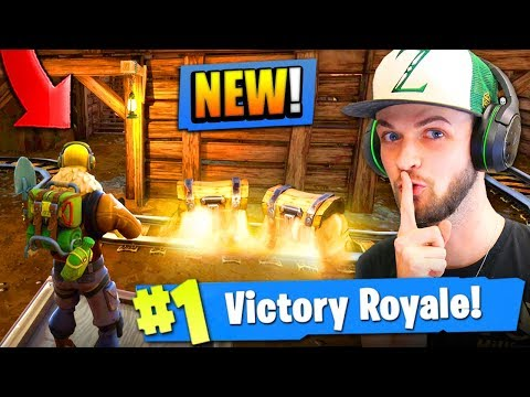 *NEW* SECRET MINES in Fortnite: Battle Royale! (SHIFTY SHAFTS)