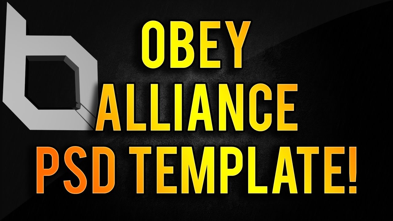 Obey Clan Logo ObeyAlliance Logo + Te...