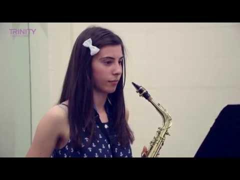 Trinity College London Grade 6 Saxophone Improvisation Test (stylistic Stimulus)