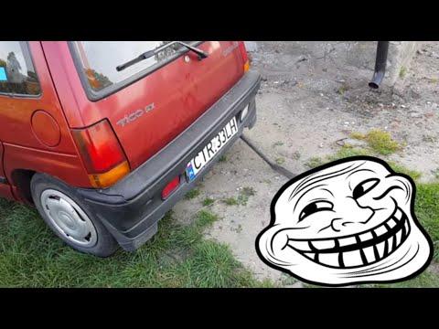 Daewoo Tico - Dętkowy wydech sportowy