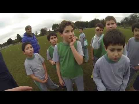 1st Group 'Questioning' 3rd/4th Basico (U9s/U10s): The Greenhouse School, Temuco, Chile