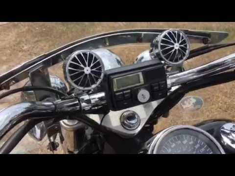 Motorcycle stereo system, PYLE review loud and clear