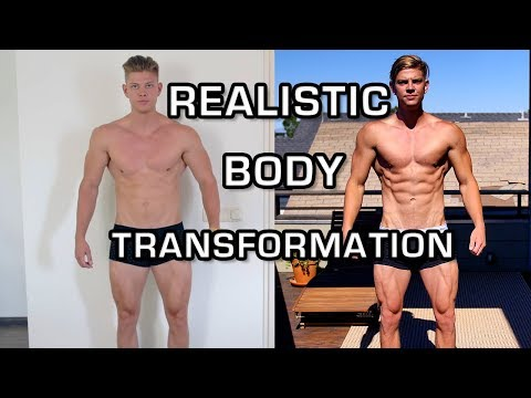 10 Week Natural Body Transformation - Student Aesthetics