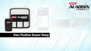 Genie Aladdin Connect: Setup your Door Position Sensor