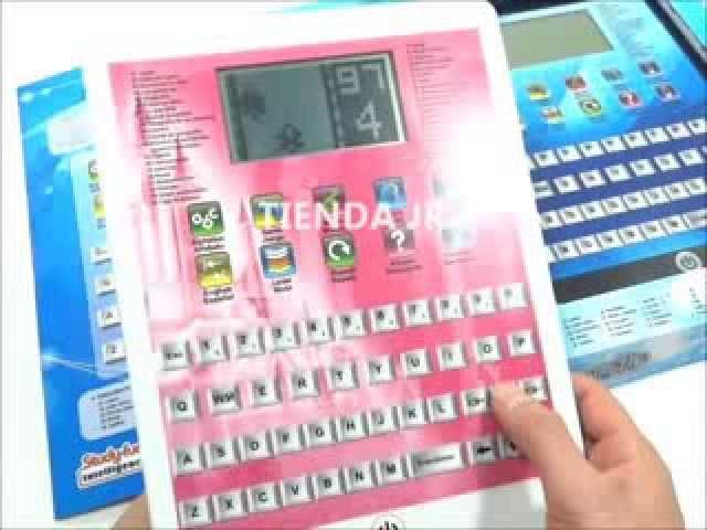 Tablet Pc Computadores De Juguete Didactica Niños Y Niñas Pantalla Lcd Bilingues Www Tiendajr Com Youtube