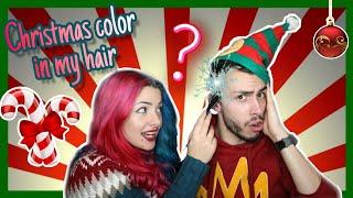 χριστουγεννιάτικο βάψιμο μαλλιών feat. Katerina Vlachou💁 | The Real Vlogmas Day 14