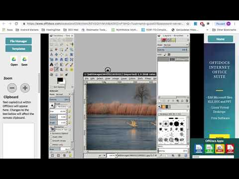 gimp online image editor