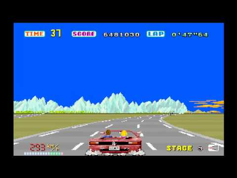 MAME World Record: Out Run 56,458,320
