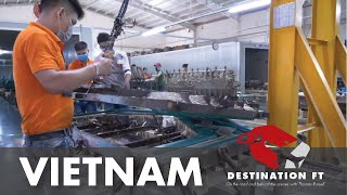 Tour of Starwood Furniture facility in Binh Duong Province, Vietnam