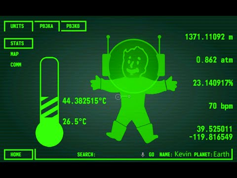Fallout 4 pip-boy app from Bethesda! WITH SOUND! (Demo ...