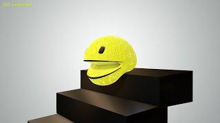 Softbody Pacman - Soft body simulation