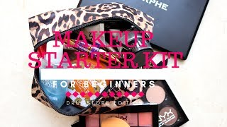 MAKEUP STARTER-KIT FOR BEGINNERS | DRUGSTORE VERSION || GIO DREVELI || GREEK TUTORIAL