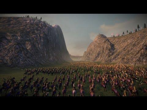 VALLEY OF DEATH  Total War: SHOGUN 2 (4K Gameplay)