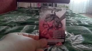 Карточки черепашки ниндзя боевая четвёрка 1часть