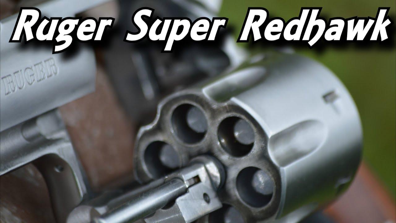 Shooting The Ruger Super Redhawk 44 Magnum