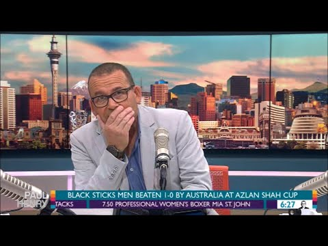 Paul Henry drops F-bomb on NZ breakfast show