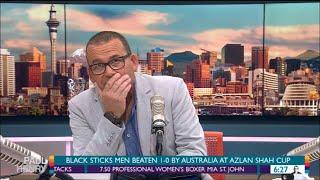 Paul Henry drops F-bomb on NZ breakfast show