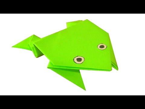 Прыгающая лягушка оригами juravliki.ru