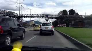 El carro dé google paseando en colombia Free HD Video