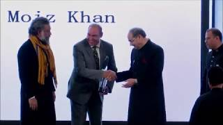 Mr. Moiz Khan - Sir Syed Global Excellence Award 2018 - Vertex Events