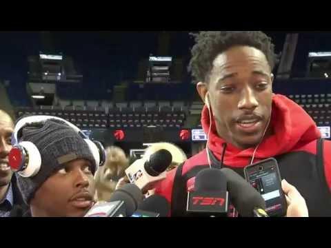 Raptors Shootaround: Kyle Lowry & DeMar DeRozan - October 3, 2016