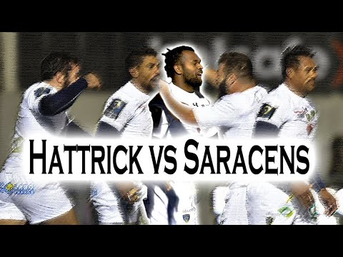 RAKA Try HAT-TRICK & Exceptional Performance at Saracens