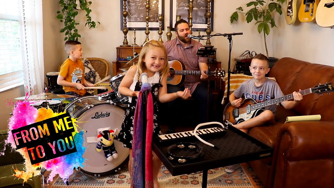 """Colt Clark and the Quarantine Kids play """"From Me to You"""""""