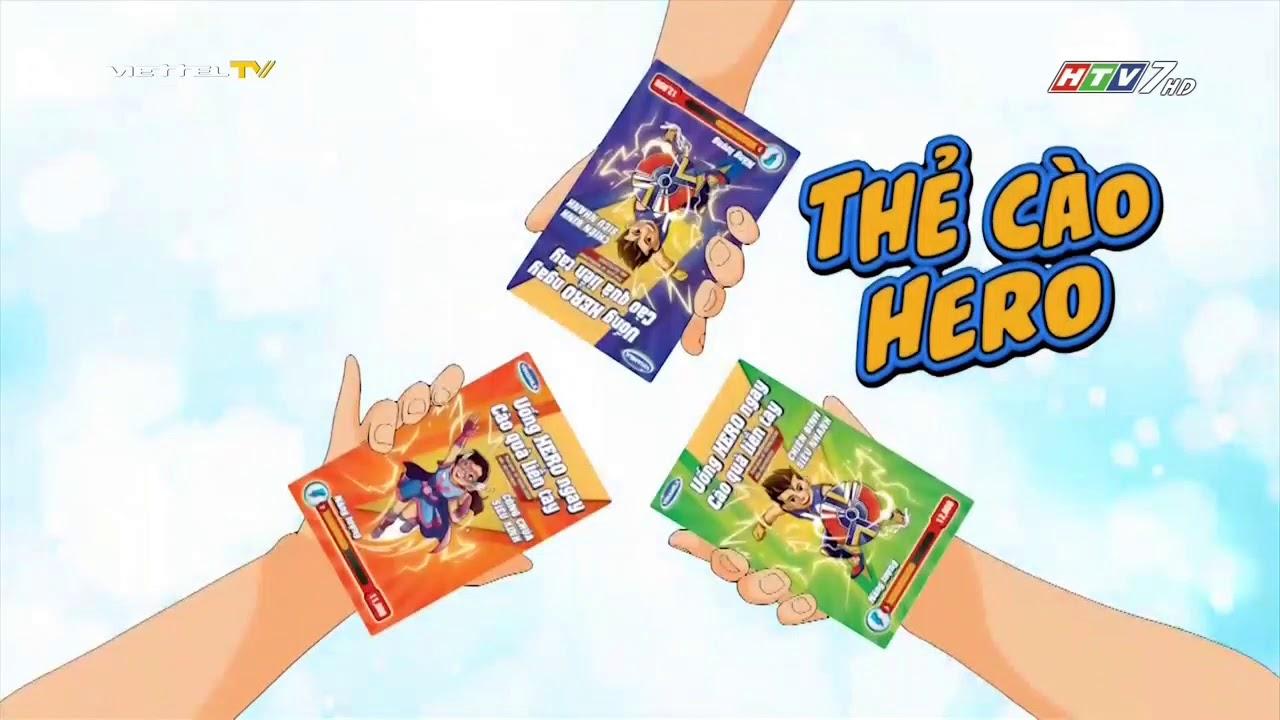 Quảng cáo Vinamilk Hero – Sữa trái cây nạp siêu năng lượng (15s)