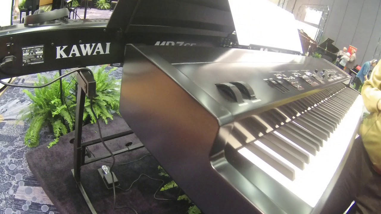 NAMM 2018 Kawai MP11SE with Sean O'Shea