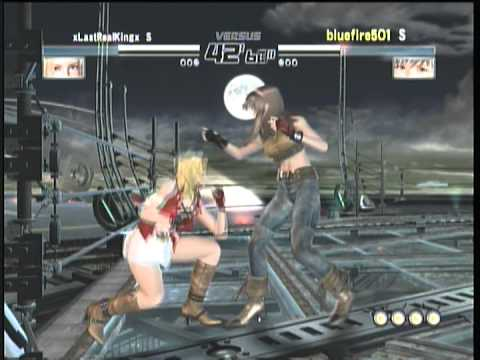 dead-or-alive-4:-online-match-tina-(xreallastkingx)-vs-hitomi-(bluefire501)