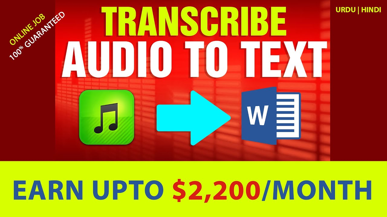 Earn money by converting Video to Text | Website review 2021