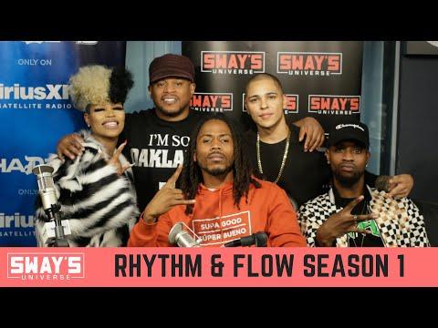 Netflix Rhythm And Flow Artists D Smoke, Londynn B, Troyman & Flawless Freestyle Live