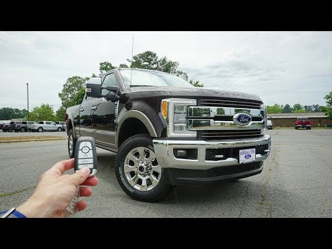 2018 Ford F-250 Super Duty King Ranch: Start Up, Walkaround, Test Drive and Review