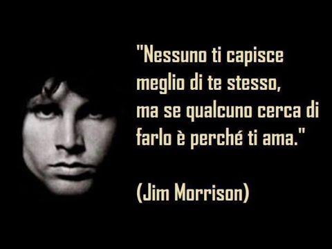 Le 25 Frasi Migliori Di Jim Morrison Youtube