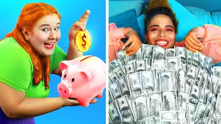 الصديقة الغنية مقابل الصديقة الفقيرة