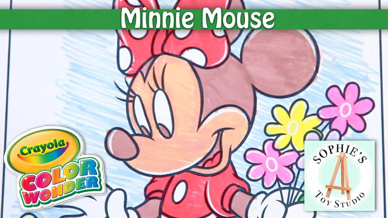 Disney Minnie Mouse Crayola Color Wonder Mickey Mouse Clubhouse ...