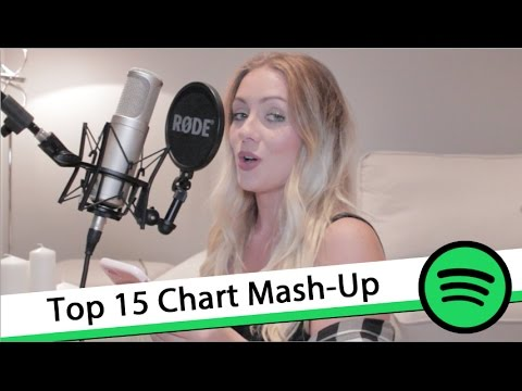 Global Top 15 Songs on Spotify Chart Mashed Up Over One Track!
