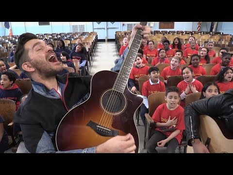 Don't Give Up On Me Andy Grammer Ft. PS22 Chorus