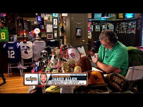 Jared Allen on The Dan Patrick Show (Full Interview) 08/14/2015