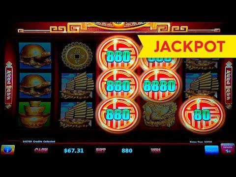 JACKPOT HANDPAY! Rising Fortunes Slot - $8.80 Max Bet Bonus! - 동영상