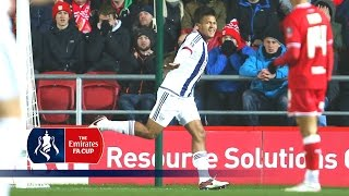 Bristol City 0-1 West Brom (Replay) Emirates FA Cup 2015/16 (R3) | Goals & Highlights