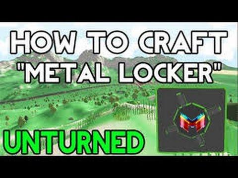 unturned how to make a locker