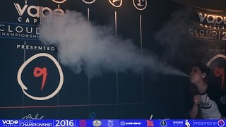 VC Cloud Championship 2016 - Vape Chain - Women's Biggest Cloud