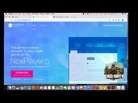 Best Way To Download Emulator On Your MAC  OS . { NOX PLAYER }