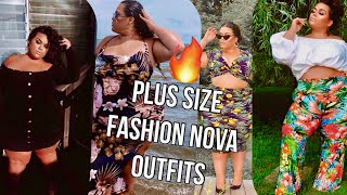 FASHION NOVA OUTFITS TRY ON!! PLUS SIZE EDITION {GABRIELLAGLAMOUR}