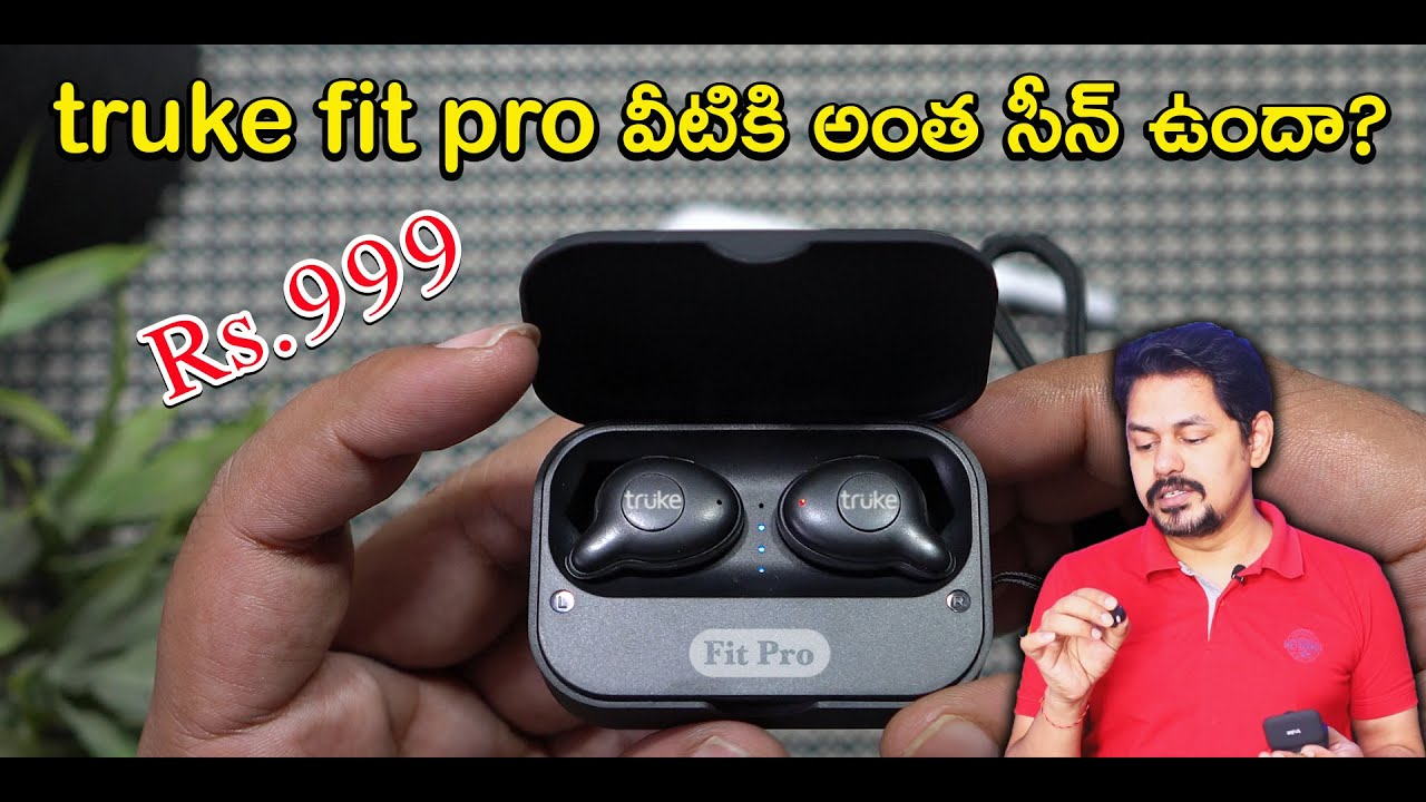 truke Fit Pro in-Ear True Wireless Bluetooth Headphones Rs.999/- Unboxing and Review