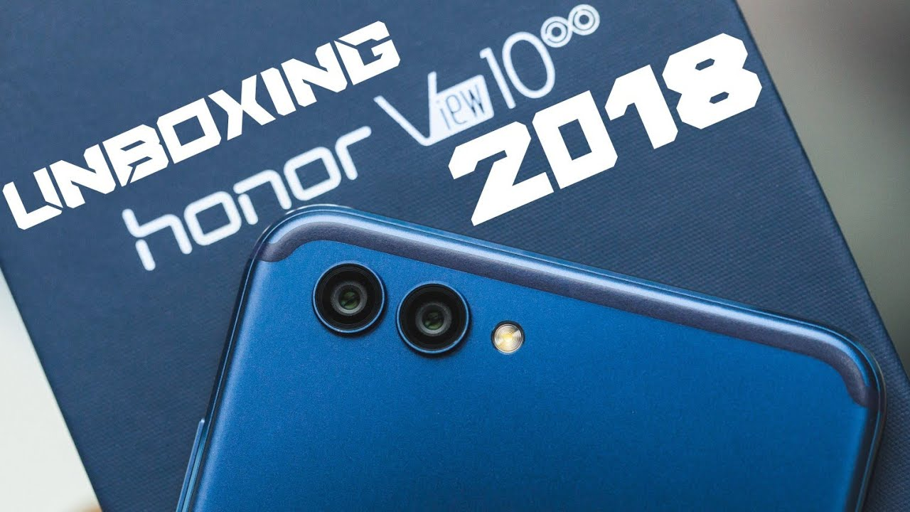 Honor View 10 UNBOXING
