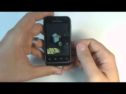 Motorola Defy Mini XT321 hard reset