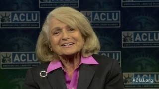 ACLU Client Edie Windsor Responds to Obama Administration's DOMA  Decision